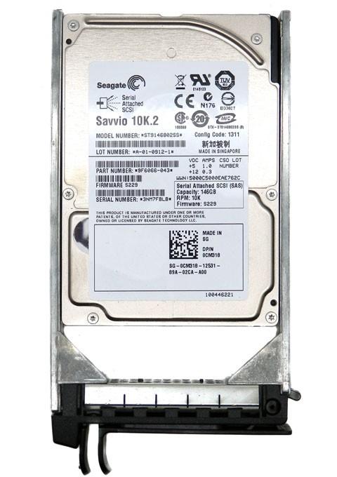 Hdd Server 146 Gb Sas Seagate 2.5 10k Rpm - Refurb