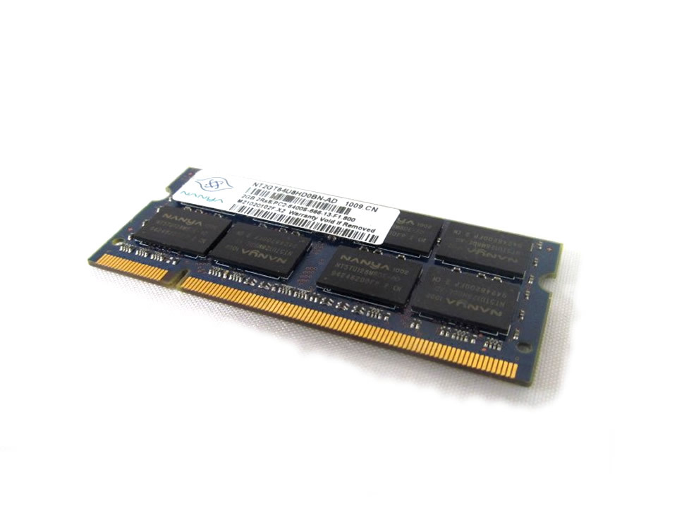 Memorie notebook DDR2 2GB 800 MHZ Nanya - second hand