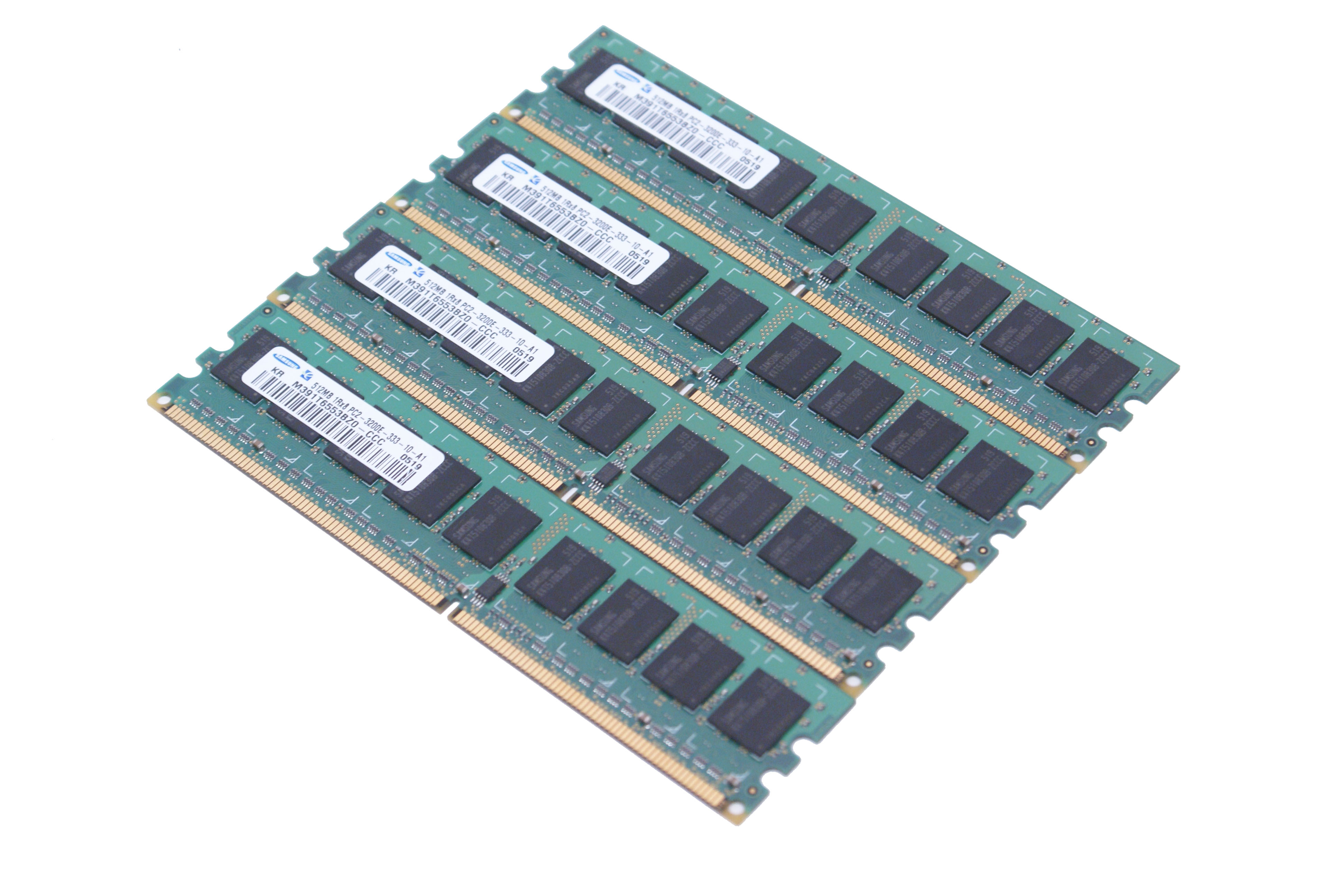 Memorie Ddr2 2048 Mb 667 Mhz (4x 512mb) - Second Hand