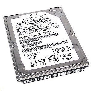 Hdd Notebook 80 Gb S-ata Hitachi 2.5 - Second Hand