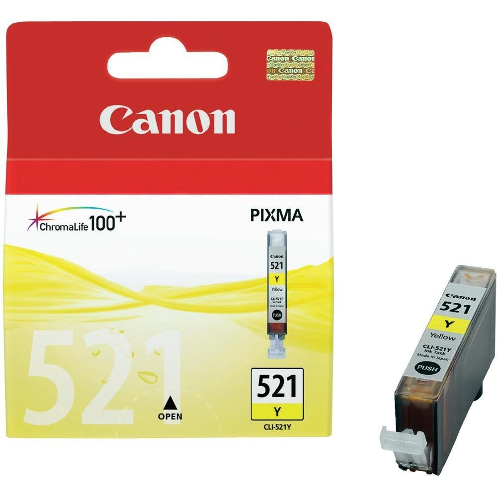 Cartus Canon Cli-521y Yellow