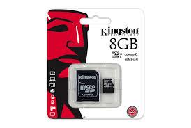 Card Memorie Micro Sdhc Cu Adaptor Sd 8 Gb Class 10 Kingston Sdc10g2/8gb