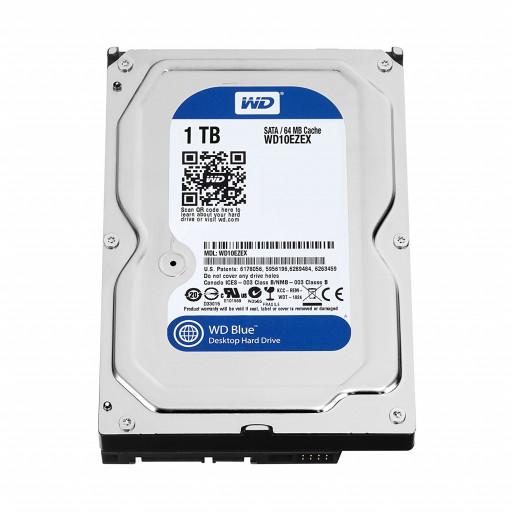 """HDD 1 TB Western Digital WD10EZEX SATA III 3.5"""" - second hand"""