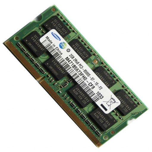 Memorie notebook DDR3 2 GB 1066 MHz Samsung