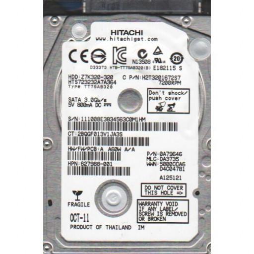 "HDD notebook 320GB S-ATA Hitachi 2.5"""