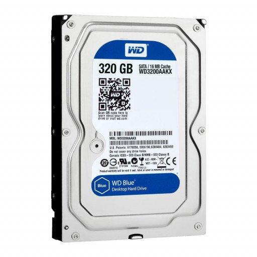 "HDD 320 GB Western Digital Caviar Blue SATA-III 3.5"" - second hand"