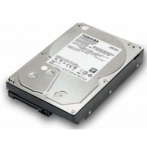 """HDD 3 TB Toshiba SATA-III 3.5"""" - second hand"""