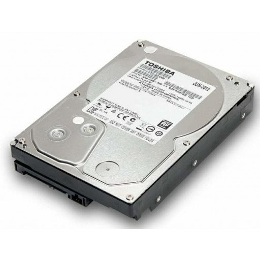 "HDD 3 TB Toshiba SATA-III 3.5"" - second hand"