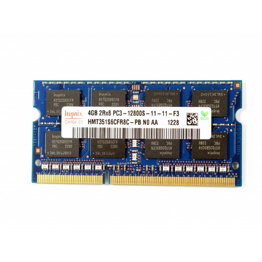 Memorie notebook DDR3 4GB 1600 MHz Hynix - second hand