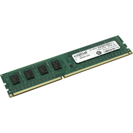 Memorie DDR3 4GB 1600 MHz Crucial - second hand