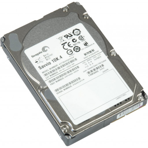 "HDD 600 GB Seagate Savvio SAS 10k RPM 2.5"" - second hand"