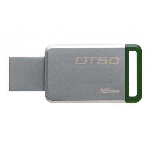 Stick USB 3.1 16 GB Kingston DataTraveler DT50/16GB- silver/green