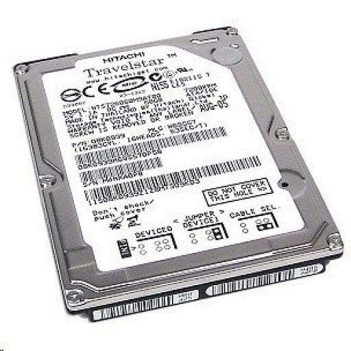 HDD notebook 80 GB S-ATA Hitachi 2,5""