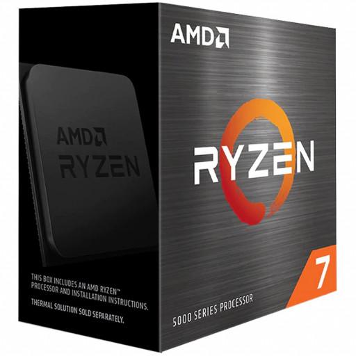 AMD CPU Desktop Ryzen 7 8C/16T 5800X (3.8/4.7GHz Max Boost,36MB,105W,AM4) box