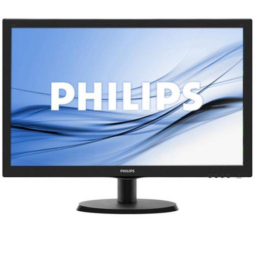 Monitor LED Philips 223V5LHSB/00, V-line, 21.5'' 1920x1080@60Hz, 16:9, TN, 5ms, 250nits, Black, 3 Years, VESA100x100/VGA/HDMI/