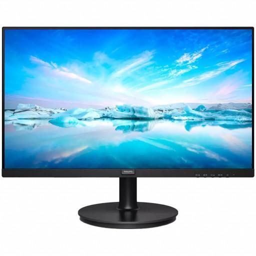 """Monitor 23.8"""" Philips 242V8LA/00 Black VA, 16:9, 1920x1080, 4ms, 250 cd/m2, 3000:1, D-Sub, HDMI, DP, 2Wx2, vesa"""