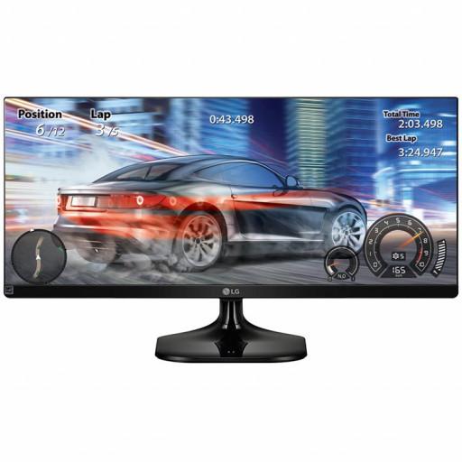 Monitor LED LG 25UM58-P (25'', 2560x1080, IPS, 5M:1, 5ms, 178/178, 250cd/m2, 2xHDMI), Black