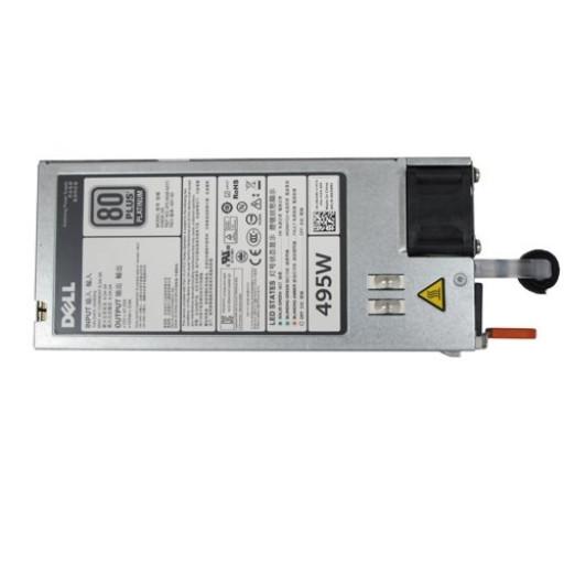Dell Single Hot-plug Power Supply (1+0), 495W, CusKit