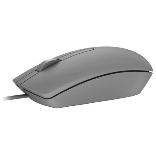Dell MS116 USB 3-button Optical Mouse, Grey