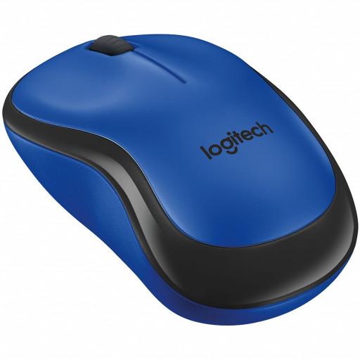 LOGITECH Wireless Mouse M220 SILENT - EMEA - BLUE