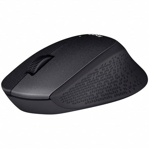 LOGITECH Wireless Mouse M330 SILENT PLUS - EMEA - BLACK