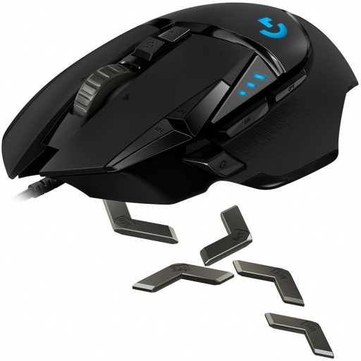 LOGITECH G502 HERO High Performance Gaming Mouse - USB  - EER2