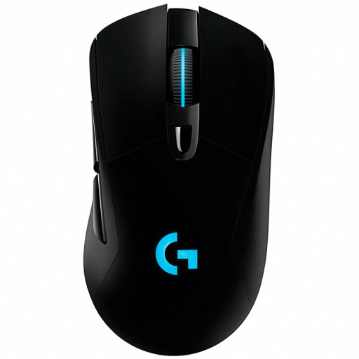 LOGITECH G703 LIGHTSPEED Wireless Gaming Mouse with HERO 16K Sensor - BLACK - 2.4GHZ - EER2