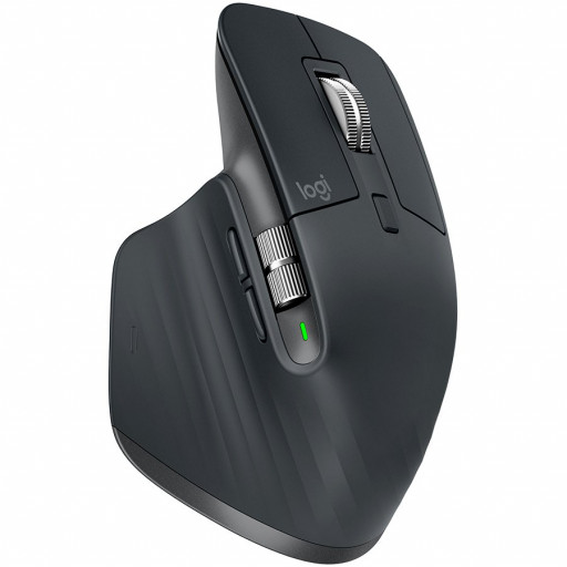Logitech MX Master 3 Advanced Wireless Mouse - GRAPHITE - 2.4GHZ/BT