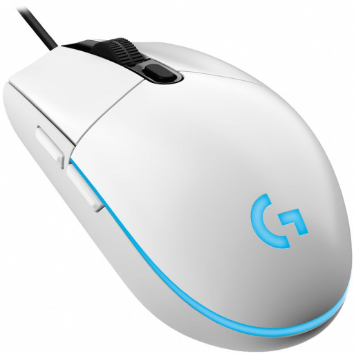 LOGITECH G102 LIGHTSYNC Gaming Mouse - WHITE - EER