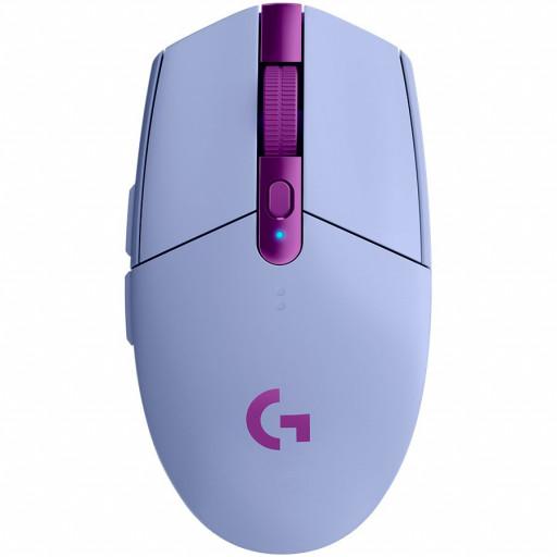 LOGITECH G305 LIGHTSPEED Wireless Gaming Mouse - LILAC - 2.4GHZ/BT - EER2 - G305