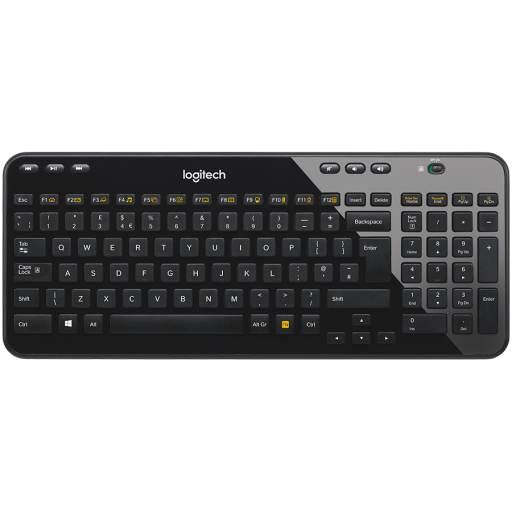 LOGITECH Wireless Keyboard K360 - EER - US International layout