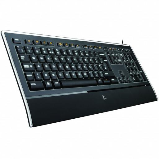 LOGITECH Illuminated Keyboard - US INT'L - USB - INTNL