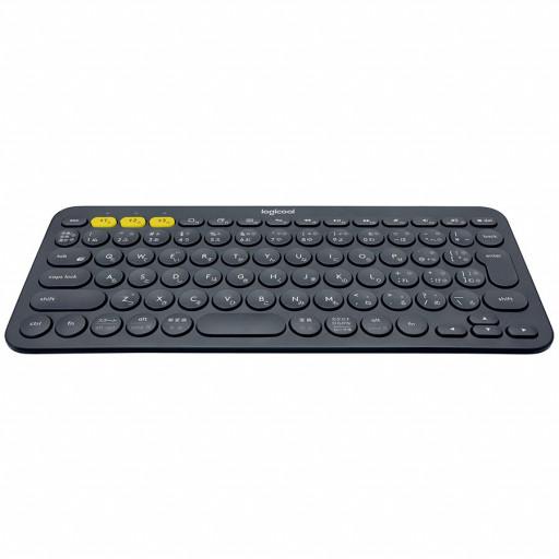 LOGITECH Bluetooth Keyboard K380 Multi-Device - INTNL - US International Layout - DARK GREY