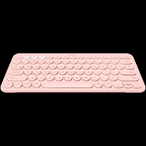 LOGITECH K380 Multi-Device Bluetooth Keyboard - ROSE - UK - BT - INTNL