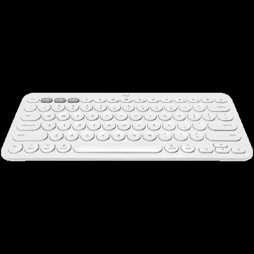 LOGITECH Bluetooth Keyboard K380 Multi-Device - INTNL - US International Layout - WHITE