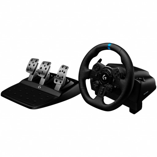 LOGITECH G923 Racing Wheel and Pedals for PS4 and PC - USB - PLUGC - EMEA - EU