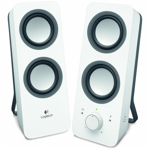 LOGITECH Audio System 2.0 Z200 - EU - SNOW WHITE