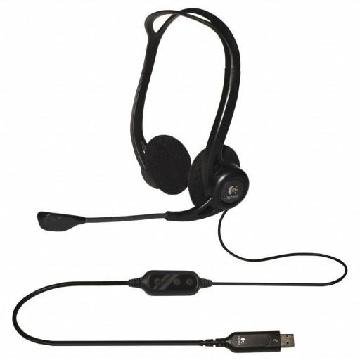LOGITECH Corded USB Stereo Headset PC 960 - Business EMEA