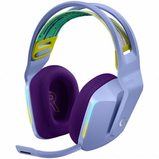 LOGITECH G733 LIGHTSPEED Headset - LILAC - 2.4GHZ - EMEA