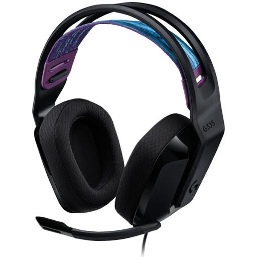 LOGITECH G335 Wired Gaming Headset - BLACK - 3.5 MM - EMEA - 914