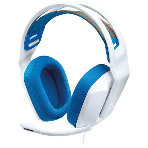 LOGITECH G335 Wired Gaming Headset - WHITE - 3.5 MM - EMEA - 914