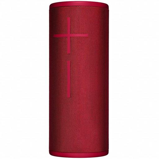 LOGITECH Ultimate Ears BOOM 3 Wireless Bluetooth Speaker - SUNSET RED - BT - EMEA