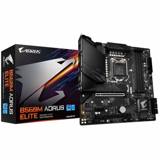 GIGABYTE Main Board Desktop Intel B560 (LGA 1200) 4xDDR4, HDMI/DP, 2xPCIe x16, 1xPCIe x1, 2 x M.2, 6 x SATA, Lan Intel 2.5Gb, mATX