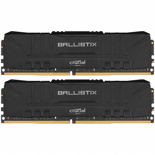 Crucial Ballistix 2x16GB (32GB Kit) DDR4 3600MT/s CL16 Unbuffered DIMM 288pin Black EAN: 649528824202