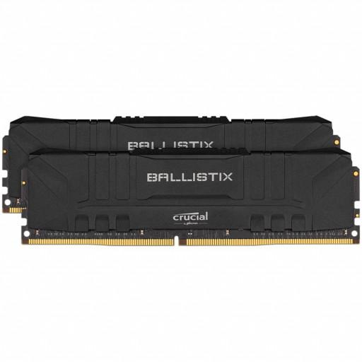 Crucial Ballistix 2x8GB (16GB Kit) DDR4 2666MT/s CL16 Unbuffered DIMM 288pin Black EAN: 649528824042