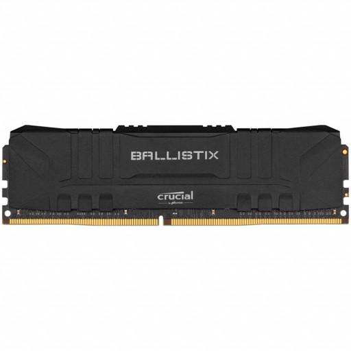 Crucial DRAM Ballistix Black 8GB DDR4 3600MT/s  CL16  Unbuffered DIMM 288pin Black, EAN: 649528824172