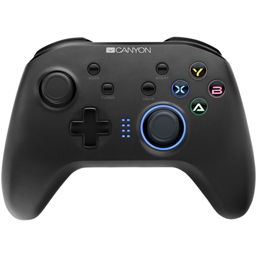 2.4G Wireless Controller with  built-in 600mah battery, 1M Type-C charging cable ,6 axis motion sensor support nintendo switch ,android,PC X-input/D-input,ps3,normal size dongle,black