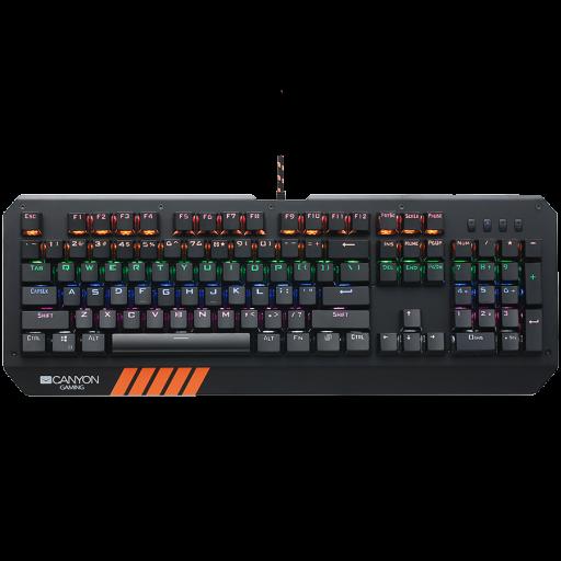 Tastatura gaming Canyon HAZARD GK-6 - CND-SKB6-US, LED backlight - black