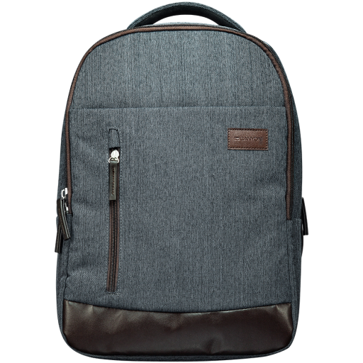 """Backpack for 15.6"""" laptop, material 600D polyester,darkgray,430*275*100mm 0.7kg, capacity 14L"""