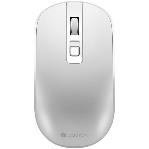 2.4GHz Wireless Rechargeable Mouse with Pixart sensor, 4keys, Silent switch for right/left keys,DPI: 800/1200/1600, Max. usage 50 hours for one time full charged, 300mAh Li-poly battery, Pearl-White, cable length 0.6m, 116.4*63.3*32.3mm, 0.075kg